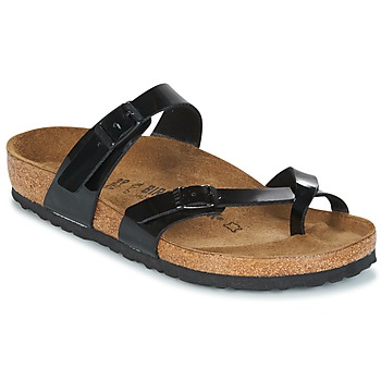 Shoes Women Mules Birkenstock MAYARI Black Patent
