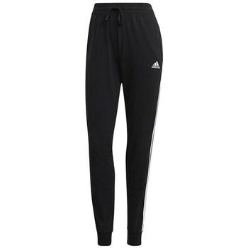 Clothing Women Tracksuit bottoms adidas Originals W 3STRIPES SJ C Black