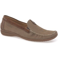Shoes Women Loafers Gabor California Sporty Womens Moccasins brown