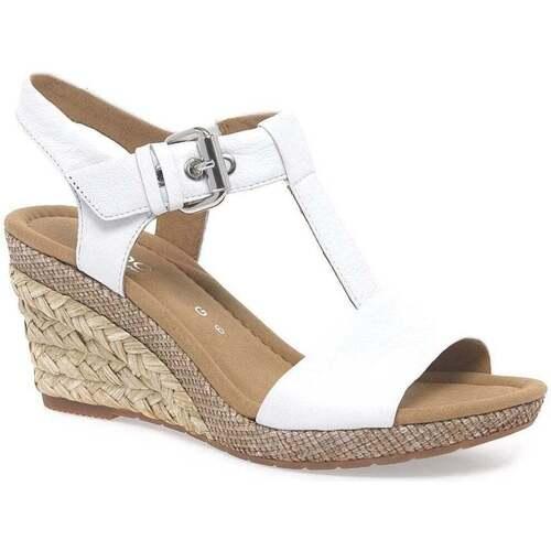 Shoes Women Sandals Gabor Karen Womens Modern Sandals white