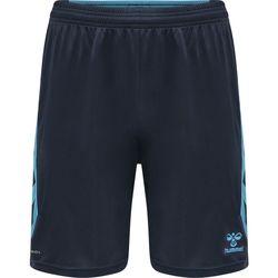 Clothing Shorts / Bermudas Hummel Short  Poly hmlACTION noir/bleu