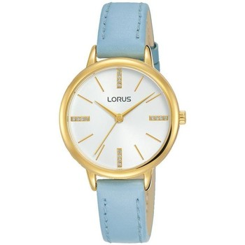 Watches & Jewellery  Women Analogue watches Lorus RG214QX8 Blue Leather Strap Ladies Watch parent