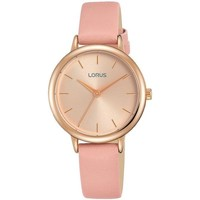 Watches & Jewellery  Women Analogue watches Lorus RG240NX9 Pink Leather Strap Ladies Watch parent