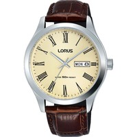Watches & Jewellery  Men Analogue watches Lorus RXN53DX9 Brown Leather Strap Men's Watch parent