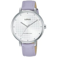 Watches & Jewellery  Women Analogue watches Lorus RG267PX8 Light Purple Leather Strap Ladies Watch parent