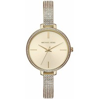 Watches & Jewellery  Women Analogue watches MICHAEL Michael Kors MK3784 Jaryn Crystal Gold Sunray Dial Ladies Watch parent