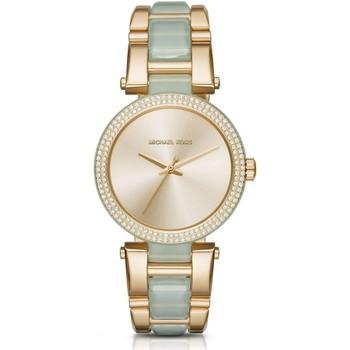 Watches & Jewellery  Women Analogue watches MICHAEL Michael Kors MK4317 Delray Pave Champagne Dial Ladies Watch parent