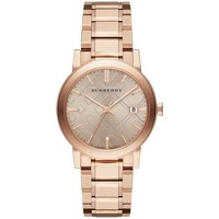 Watches & Jewellery  Women Analogue watches Burberry BU9034 Rose Dial Rose Gold-Tone Women's Watch parent