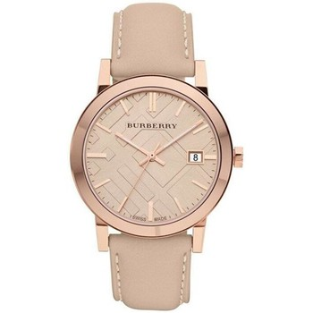 Watches & Jewellery  Women Analogue watches Burberry BU9014 Tan Dial Leather Strap Ladies Watch parent