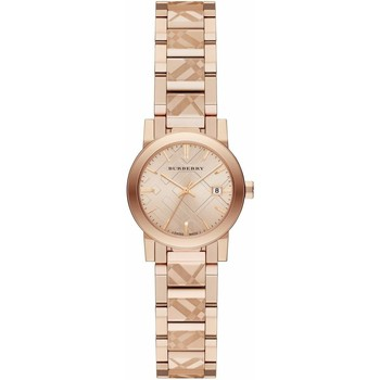 Watches & Jewellery  Women Analogue watches Burberry BU9235 The City Rose Gold Tone 26mm Case Ladies Watch parent