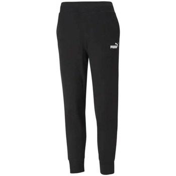 Clothing Women Tracksuit bottoms Puma Ess Sweat Pant TR Black