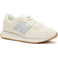 Shoes Women Running shoes New Balance 237 Womens Beige / Lilac Trainers Beige
