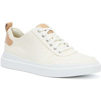 Shoes Men Low top trainers Cole Haan GrandPrø Rally Canvas Court Mens Ivory / White Tra Ivory