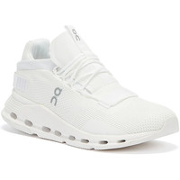 Shoes Women Low top trainers On Running Cloud Nova Womens All White Trainers White