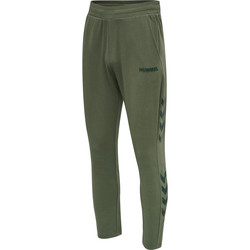Clothing Men Tracksuit bottoms Hummel Jogging  hmlLegacy Tapered vert/noir