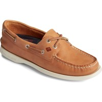 Shoes Women Boat shoes Sperry Top-Sider STS86460-060 A/O 2-Eye Splash Leather Tan