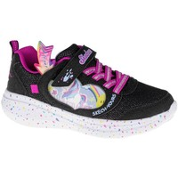 Shoes Children Low top trainers Skechers GO Run Fast Miss Crafty Black