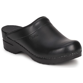 Shoes Clogs Sanita SONJA OPEN Black