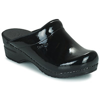 Shoes Women Clogs Sanita SONJA OPEN Black / Verne