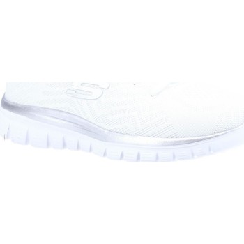Shoes Women Running shoes Skechers Graceful Get Connected White and Silver
