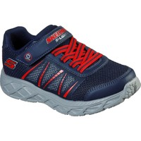 Shoes Boy Low top trainers Skechers 401530L-NVRD-27 Dynamic-Flash Navy and Red