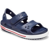 Shoes Children Outdoor sandals Crocs 14854-462-C6 Kids Crocband ll Sandal Navy and White