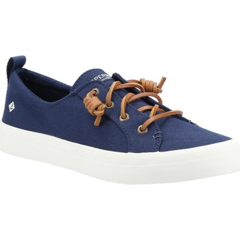 Shoes Women Low top trainers Sperry Top-Sider STS81904-040 Crest Vibe Canvas Navy