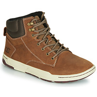 Shoes Men Hi top trainers Caterpillar COLFAX MID Dark Beige