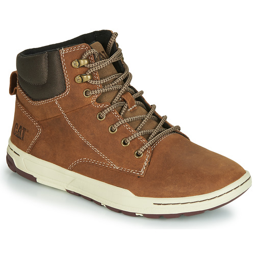 Shoes Men Hi top trainers Caterpillar COLFAX MID Brown