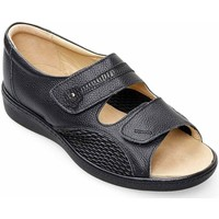 Shoes Women Derby Shoes Padders Peaceful Womens Wide Fit Sandals black