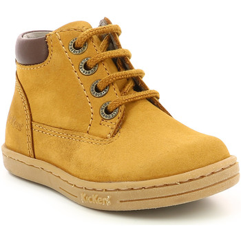 Shoes Children Mid boots Kickers Chaussures enfant  Tackland camel/marron
