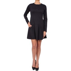 Clothing Women Short Dresses Anta Q'ulqi - Pima cotton Jersey Dress MANOLA Noir