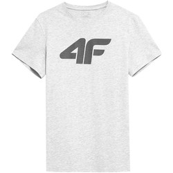 Clothing Men Short-sleeved t-shirts 4F TSM353 White