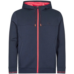 Clothing Men Sweaters BOSS Athleisure Saggy 1 Zipped Hoodie - Navy