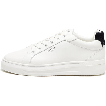 Shoes Men Low top trainers Mallet GRFTR Black Tab Trainers - White