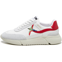 Shoes Men Low top trainers Axel Arigato Genesis Stripe Bird Trainers - White / Red