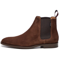 Shoes Men Mid boots Paul Smith Gerald Boots - Dark Brown Suede