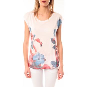 Clothing Women short-sleeved t-shirts Little Marcel T-shirt E15FTSS0231 Tibali Rose poudre Pink