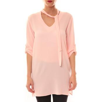 Clothing Women Short Dresses La Vitrine De La Mode Robe 156 By La Vitrine Rose Pink