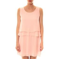 Clothing Women Short Dresses La Vitrine De La Mode Robe TROIS By La Vitrine Rose Pink