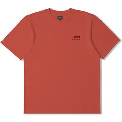 Clothing Short-sleeved t-shirts Edwin T-shirt  logo rouge
