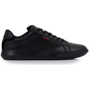 Shoes Men Low top trainers Tommy Hilfiger FM0FM03750BDS Black