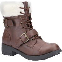Shoes Women Snow boots Rocket Dog TRAVISGS-03 Travis Brown and Natural