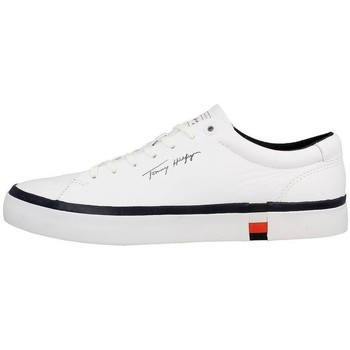Shoes Men Derby Shoes & Brogues Tommy Hilfiger Corporate Modern Vulc Leather White