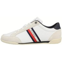 Shoes Men Derby Shoes & Brogues Tommy Hilfiger Corporate Material Mix Leather White