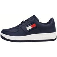 Shoes Men Low top trainers Tommy Hilfiger Cupsole Logo Tjm Navy blue