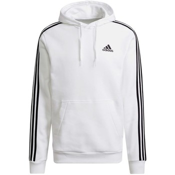 Clothing Men Sweaters adidas Originals Essentials 3STRIPES Hoodie White