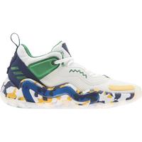 Shoes Children Basketball shoes adidas Originals Chaussures enfant  D.O.N. Issue 3 J blanc/vert/bleu