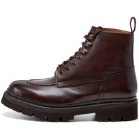 Shoes Men Mid boots Grenson Jonah Hand Painted Boots - Dark Brown