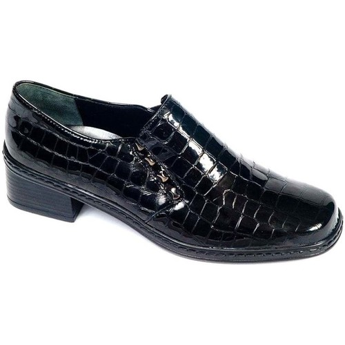 Shoes Women Loafers Gabor Hertha High Cut Leather Womens Shoes black